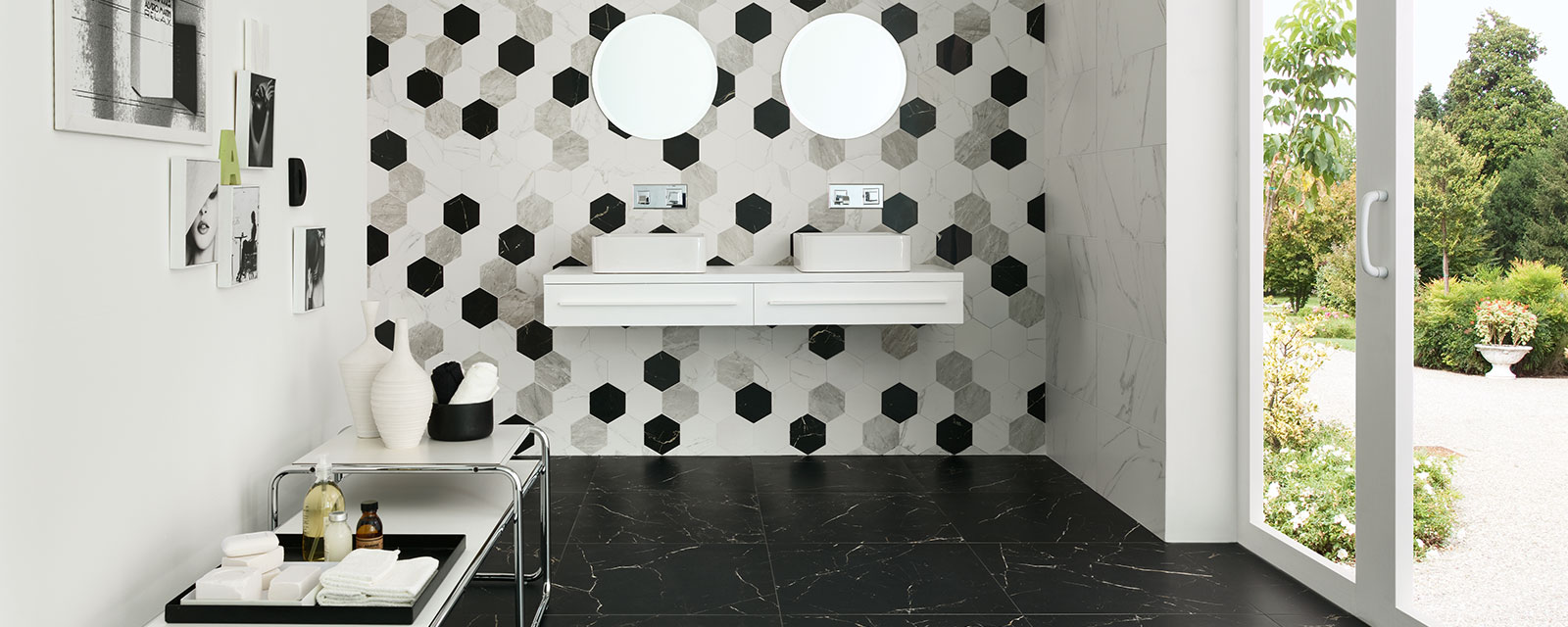 Type De Salle De Bain carrelage hexagonal dans la salle de bains | guide artisan