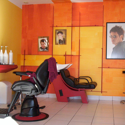renovation salon de coiffure MARTIAL LITTIERE